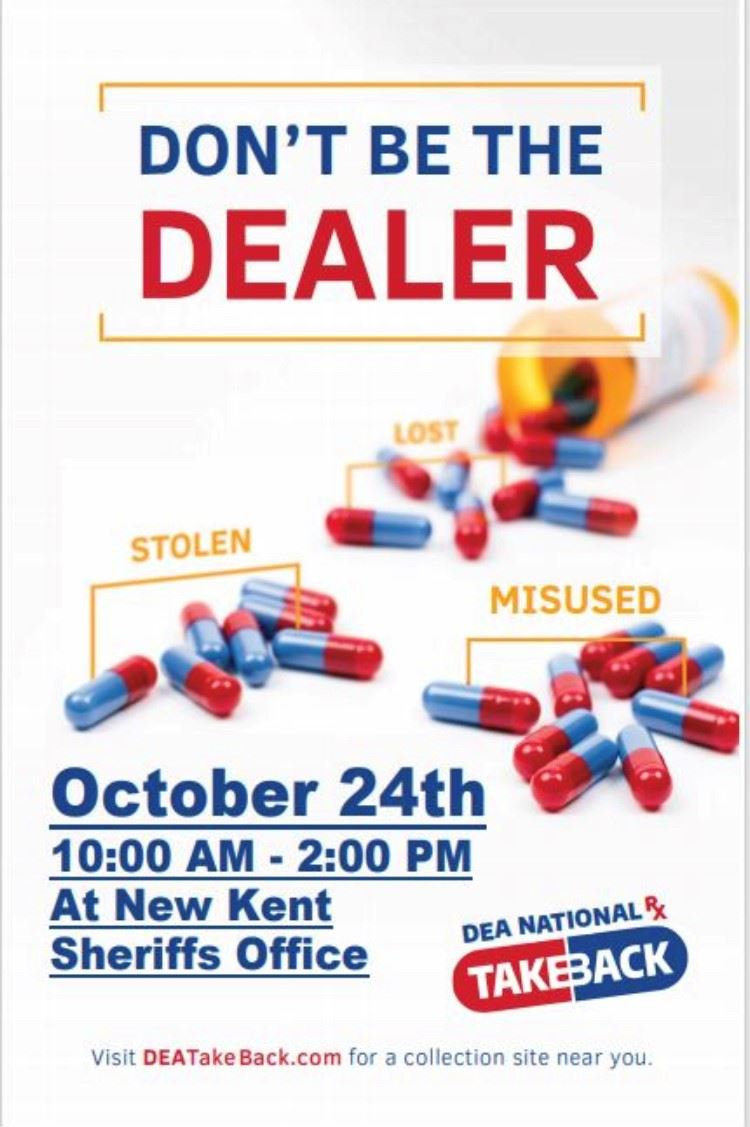 Drug Take Back Oct 24 2020