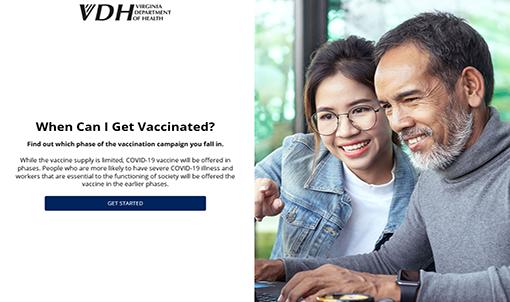 vdh when can i get vaccinated online tool