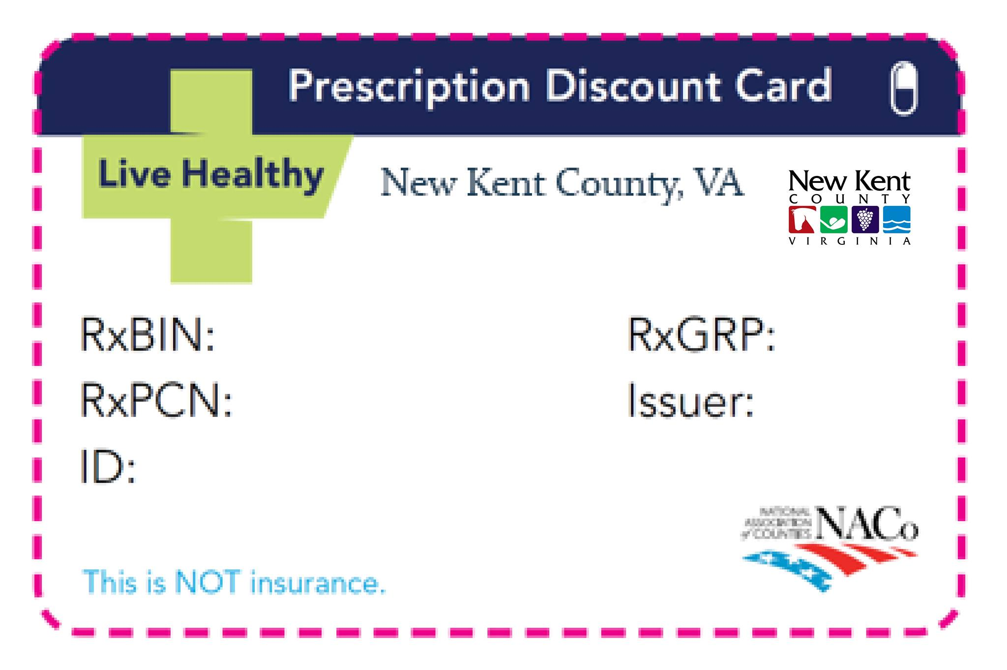 naco prescription card